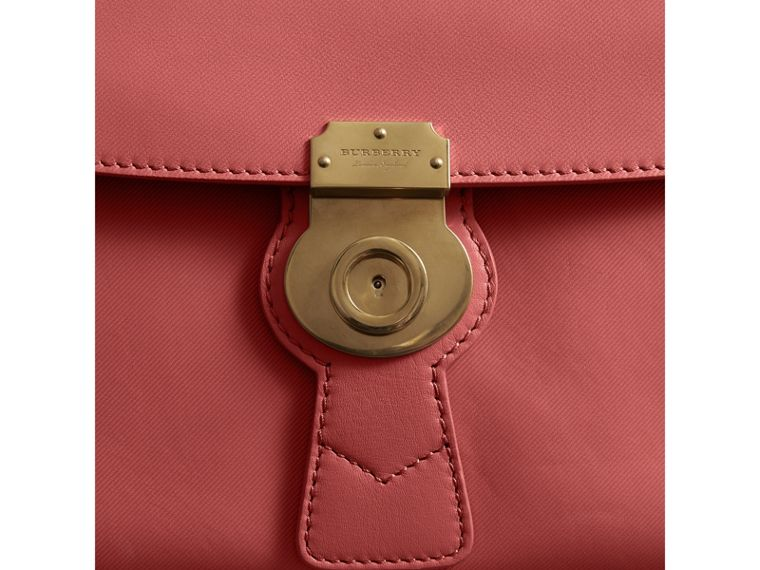The Medium DK88 Top Handle Bag in Blossom Pink - Women | Burberry United Kingdom - cell image 1