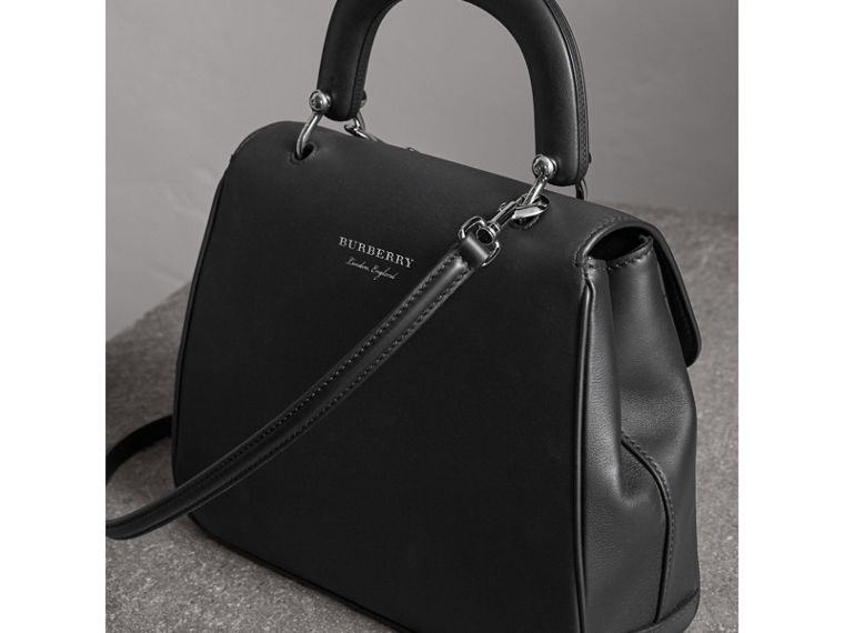 The Medium DK88 Top Handle Bag in Black - Women | Burberry - cell image 4