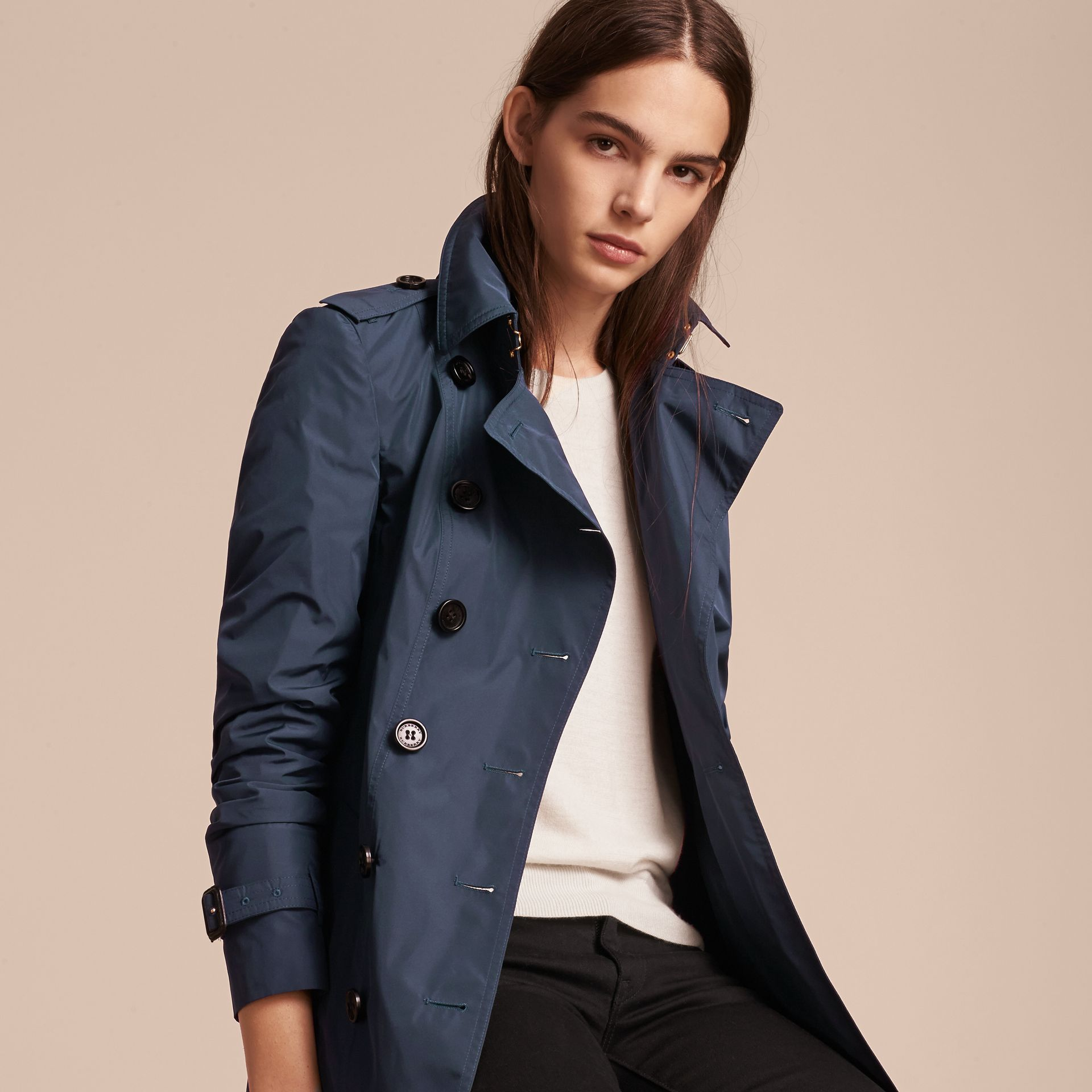 Lightweight Trench Coat - gallery image 8