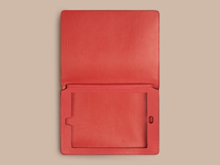 Rosso arancione Custodia per iPad mini in pelle a grana Rosso Arancione - cell image 2