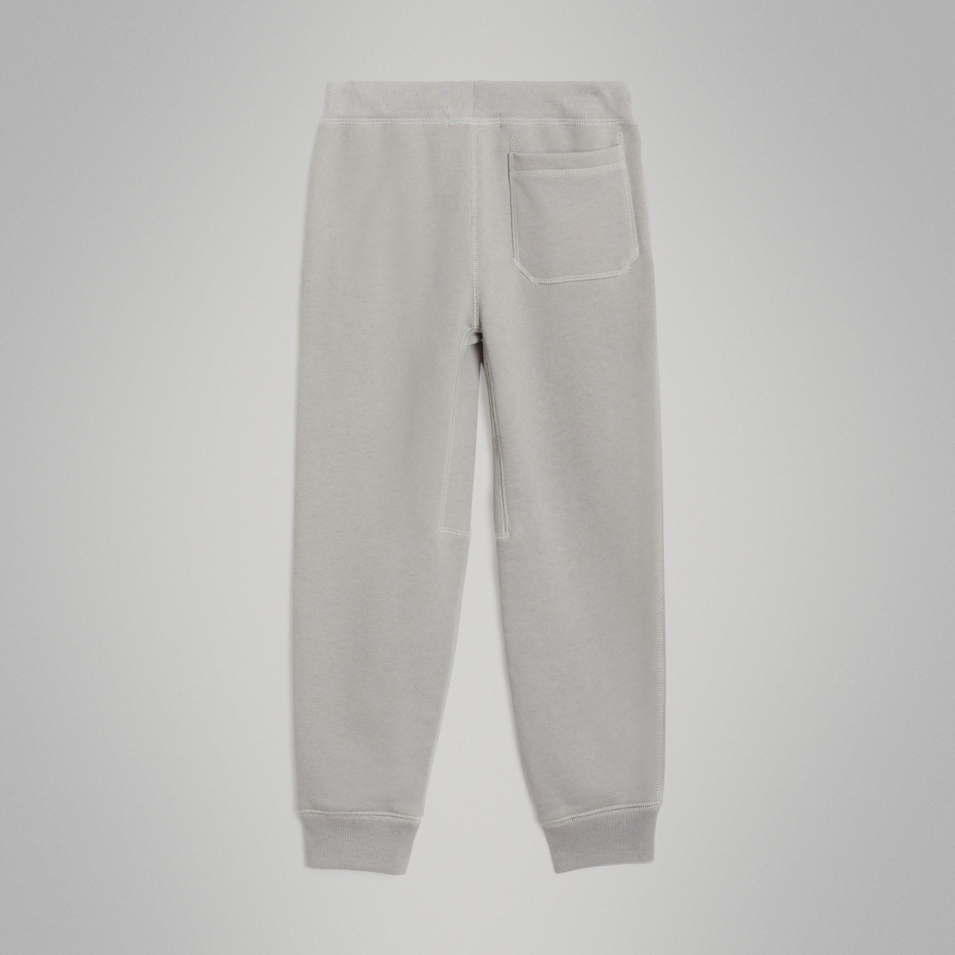 Pantalones deportivos en tejido jersey de algodón (Mezcla  Gris Tiza) | Burberry - imagen de la galería 3