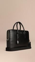 Medium London Leather Briefcase