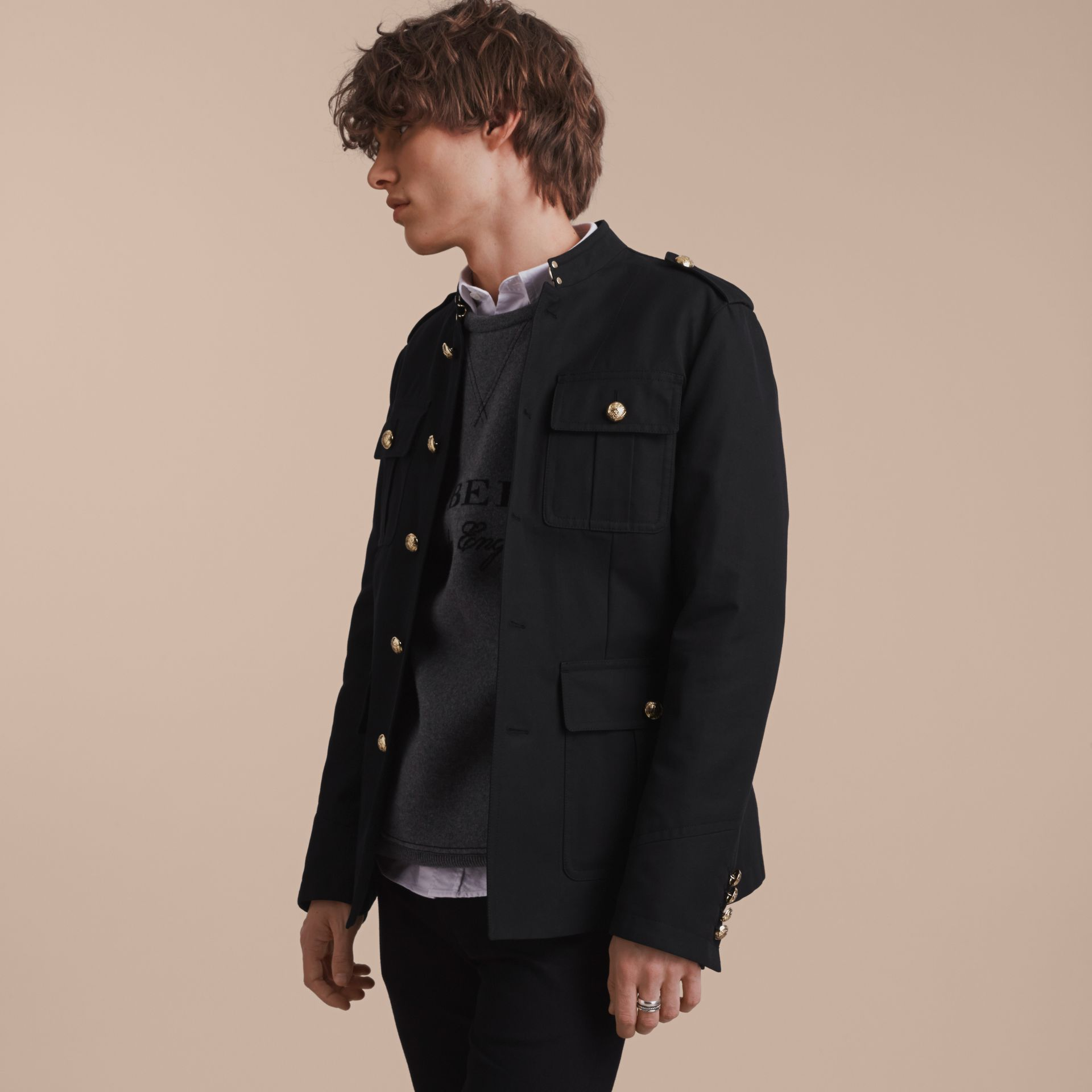 Military Cotton Jacket - gallery image 7