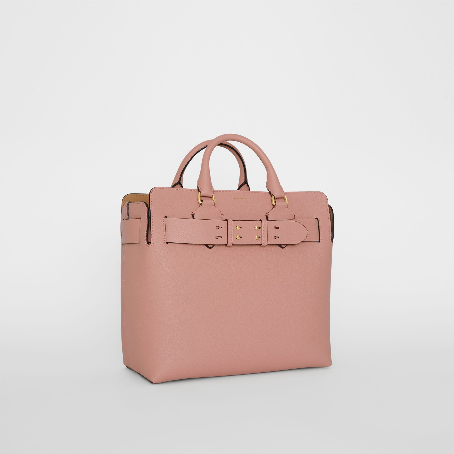 The Medium Leather Belt Bag in Ash Rose - Women | Burberry - gallery image 6