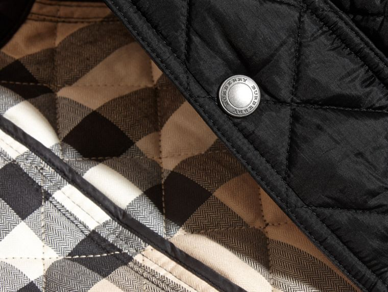 Diamond Quilted Field Jacket - Boy | Burberry - cell image 1