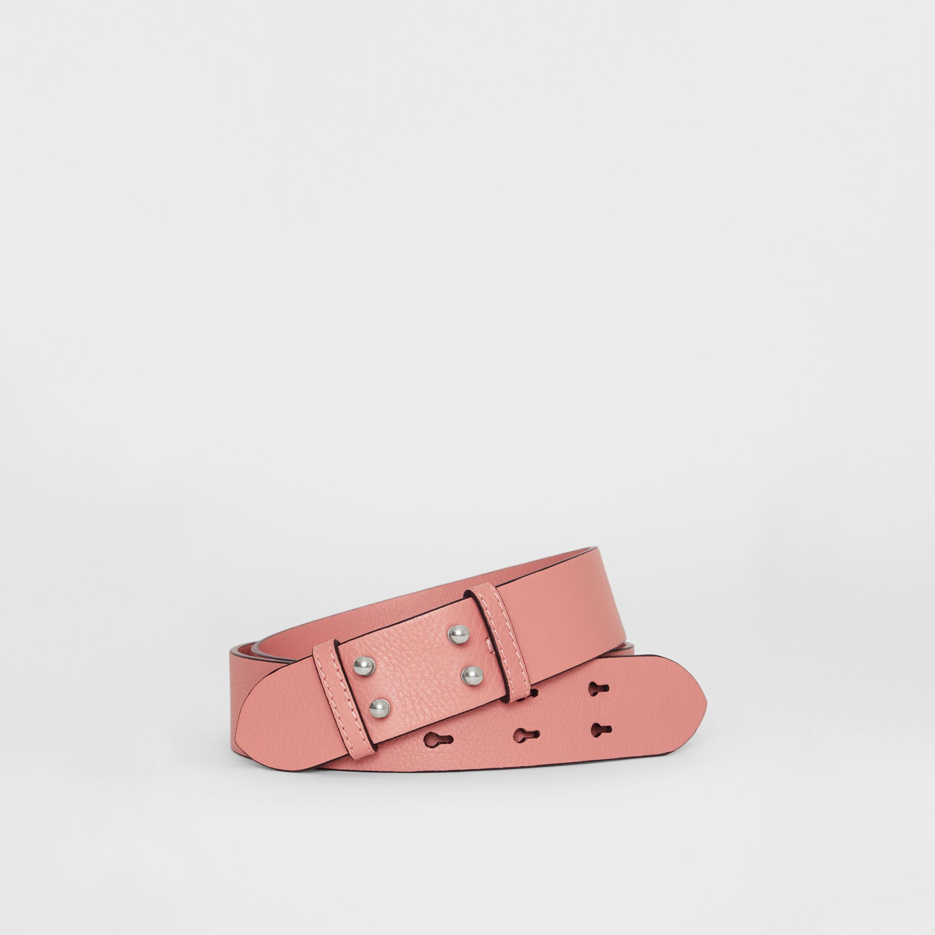 The Medium Belt Bag Grainy Leather Belt in Dusty Rose - Women | Burberry Singapore - gallery image 0