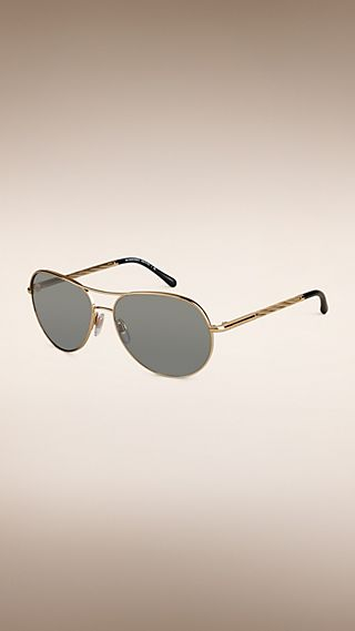 Gafas de sol de estilo aviador de la colección Gabardina