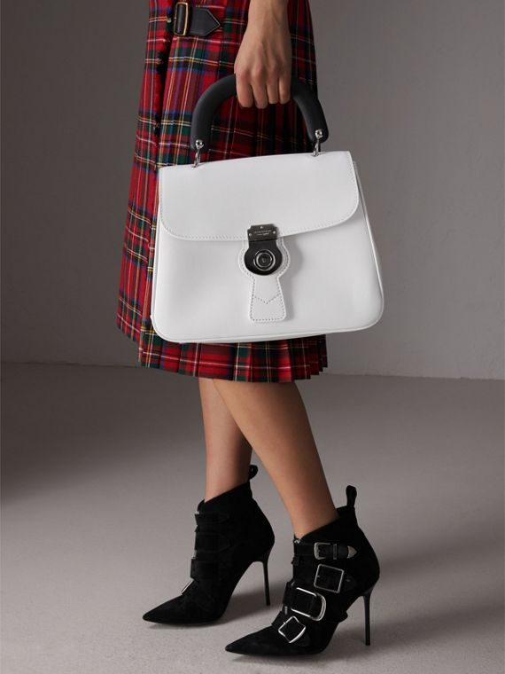 The Medium DK88 Top Handle Bag in Chalk White - Women | Burberry Singapore - cell image 3