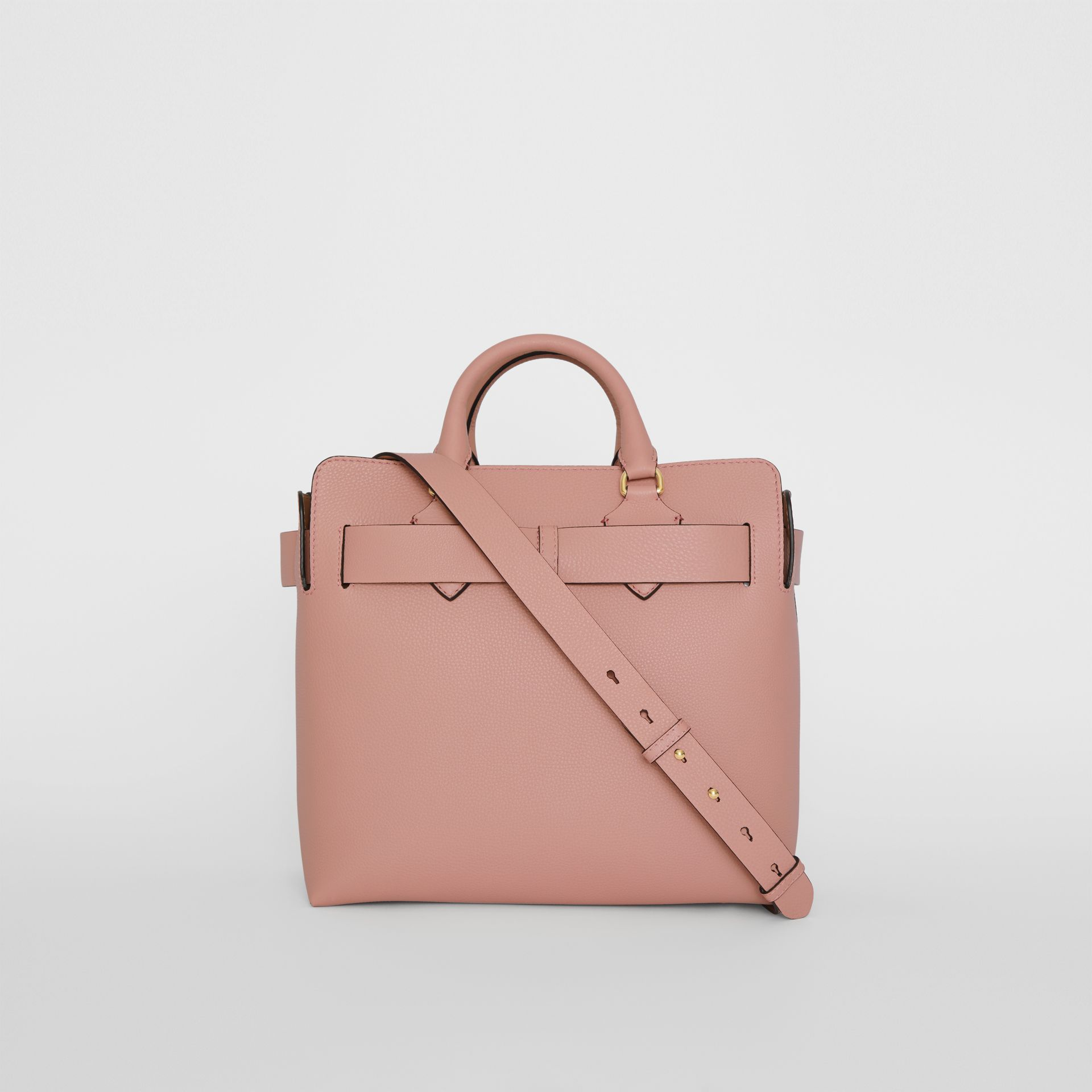 The Medium Leather Belt Bag in Ash Rose - Women | Burberry United Kingdom - gallery image 7