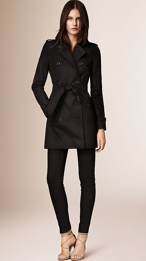 Honey The Kensington - Mid-Length Heritage Trench Coat - Image 1