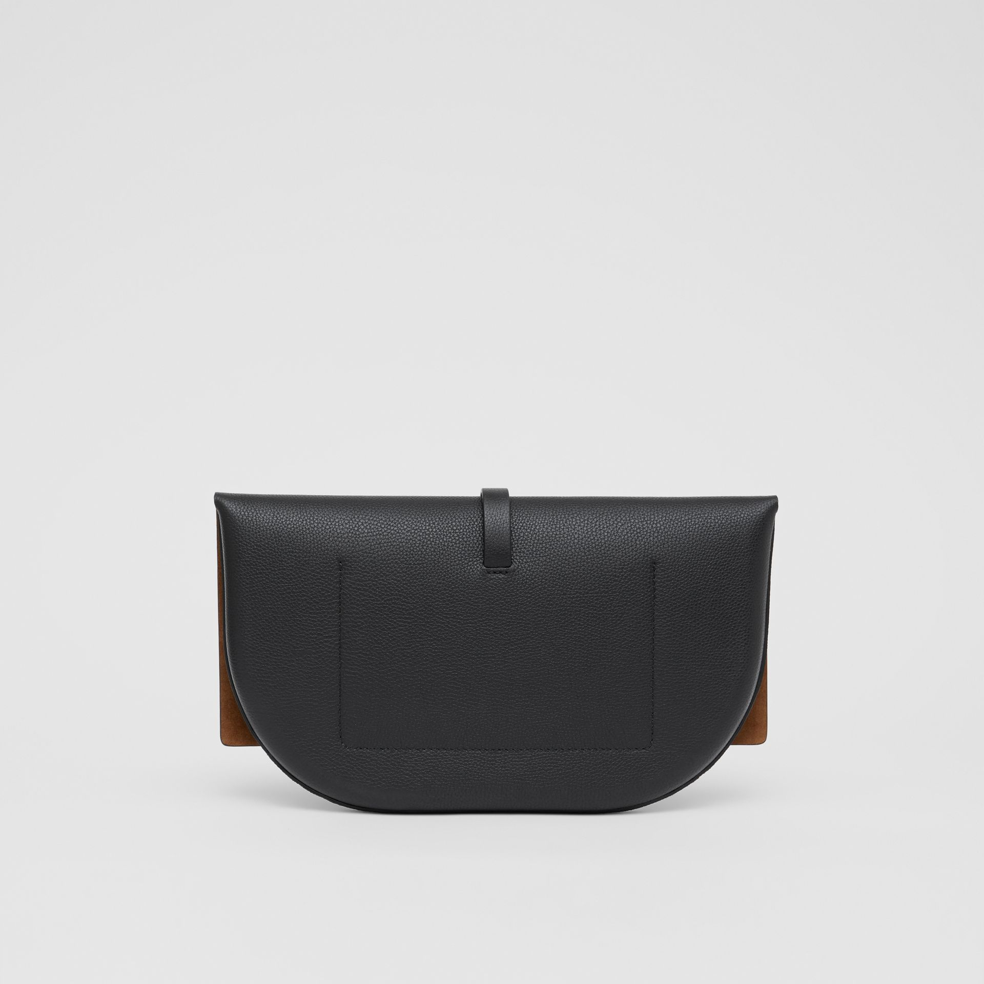 Grainy Leather Anne Clutch in Black - Women | Burberry United Kingdom - gallery image 7