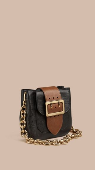 The Buckle Bag – Square in Leather
