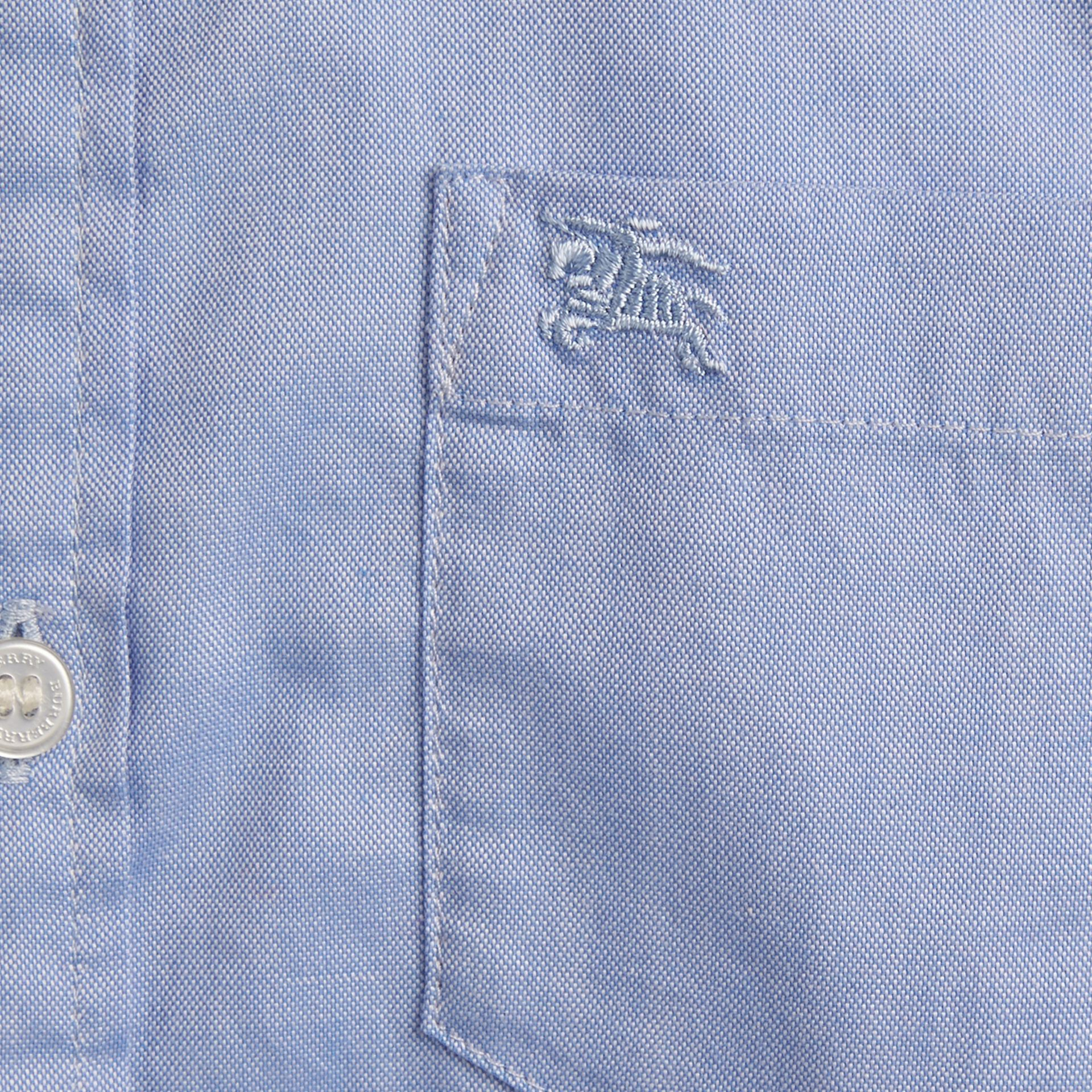 Classic Oxford Shirt in Cornflower Blue - gallery image 2