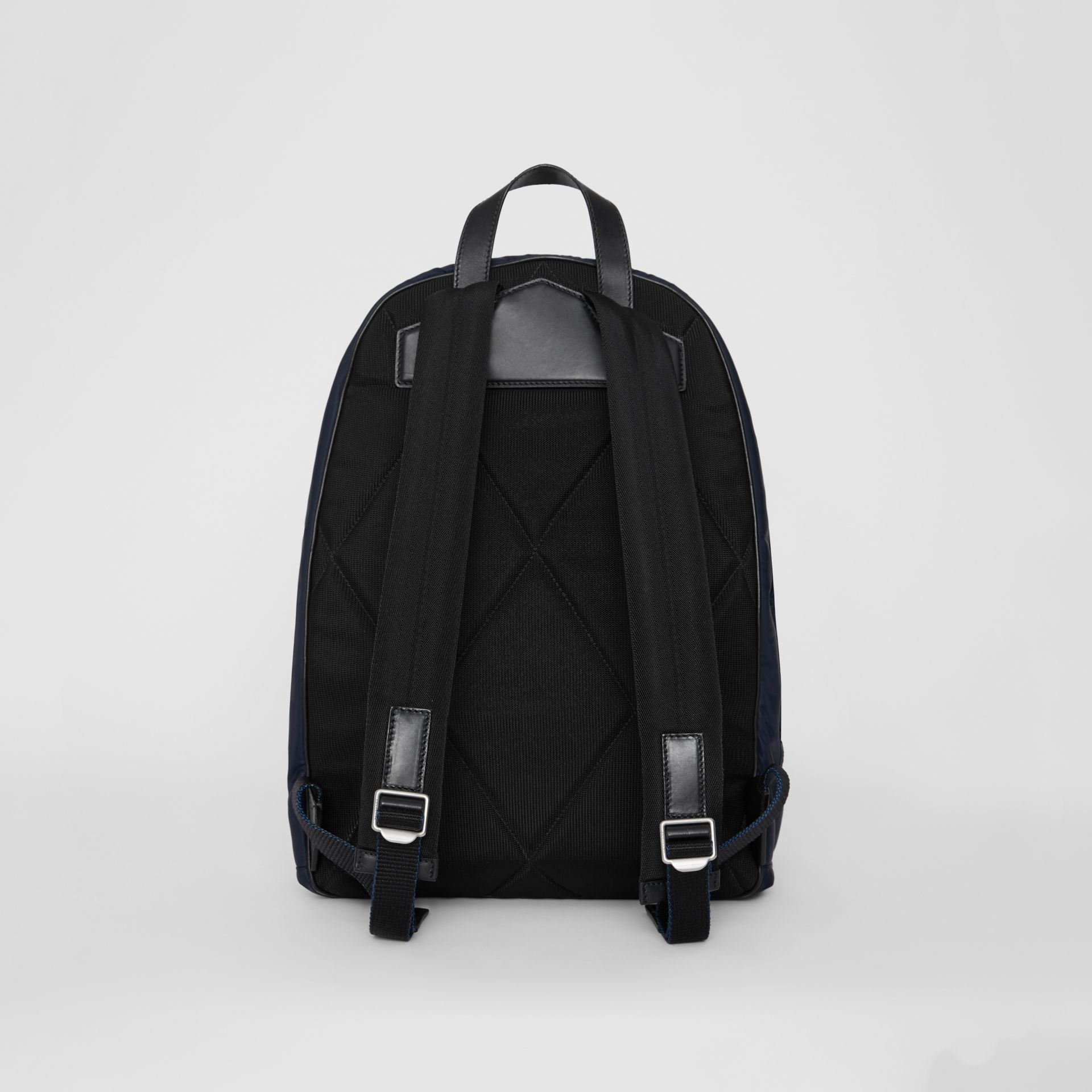 Large EKD Aviator Nylon Backpack in Ink Blue - Men | Burberry - gallery image 7