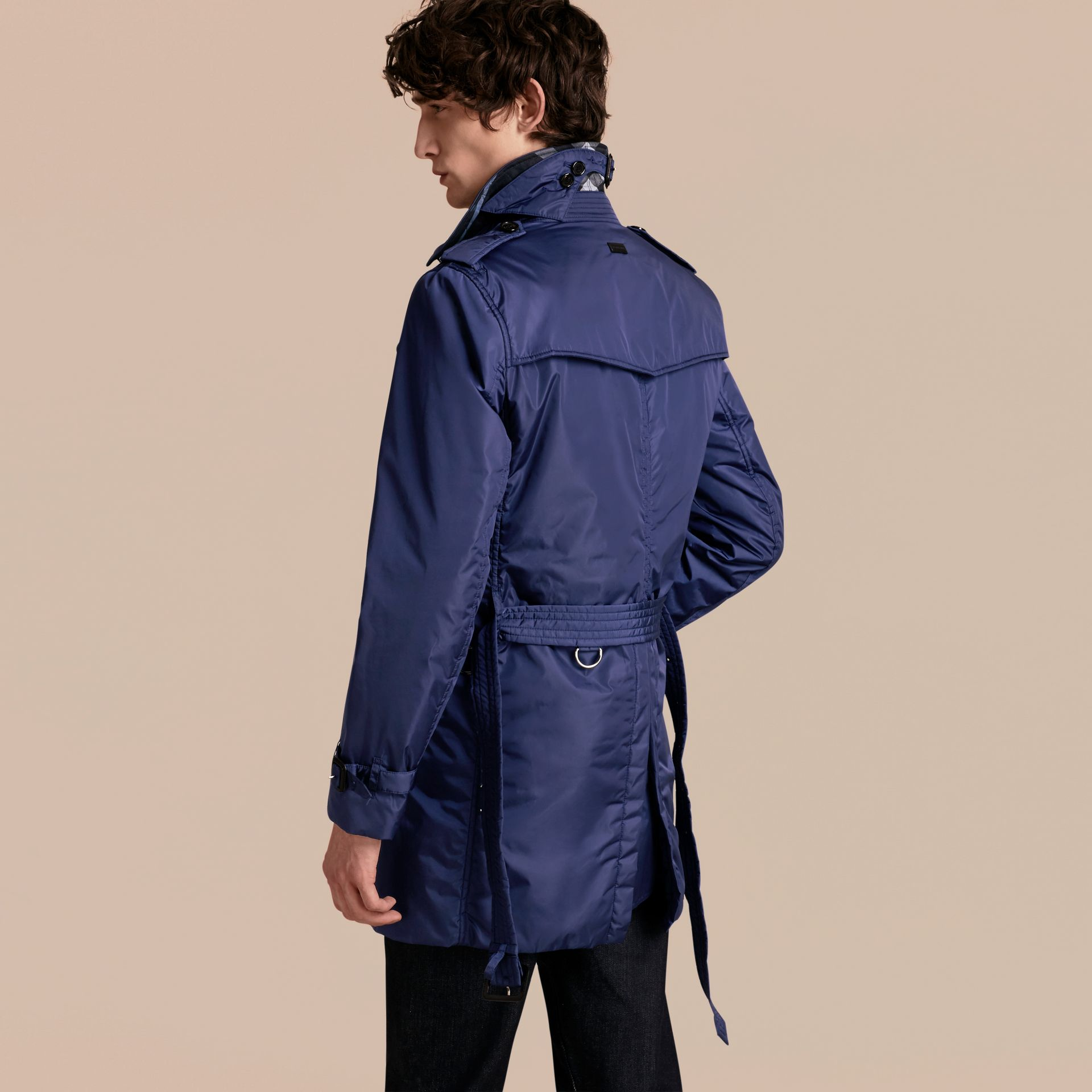 Showerproof Technical Trench Coat with Detachable Warmer - gallery image 3