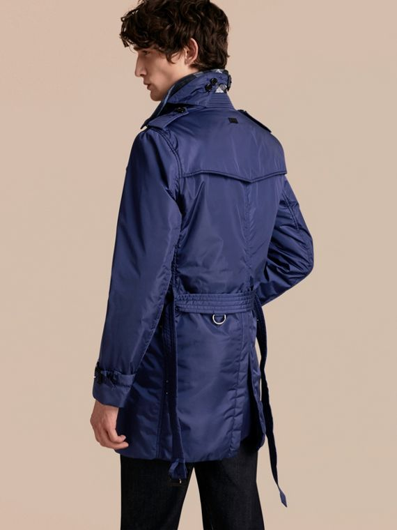 Showerproof Technical Trench Coat with Detachable Warmer - cell image 2