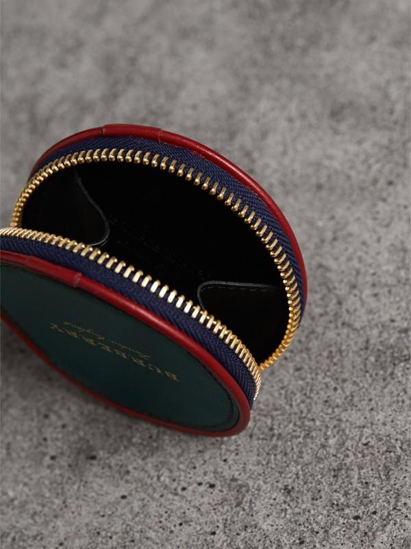 Porta-moedas de couro com motivo Creature (Verde Bandeira Escuro) - Homens | Burberry - cell image 3