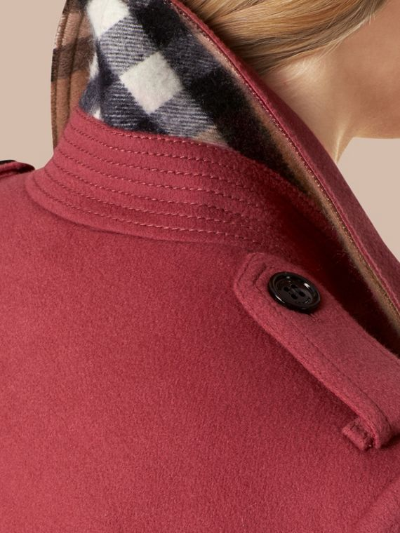 Sandringham Fit Cashmere Trench Coat - cell image 3