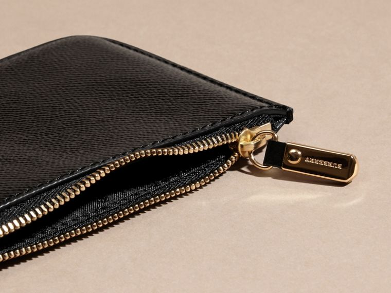 Black Patent London Leather Pouch - cell image 4