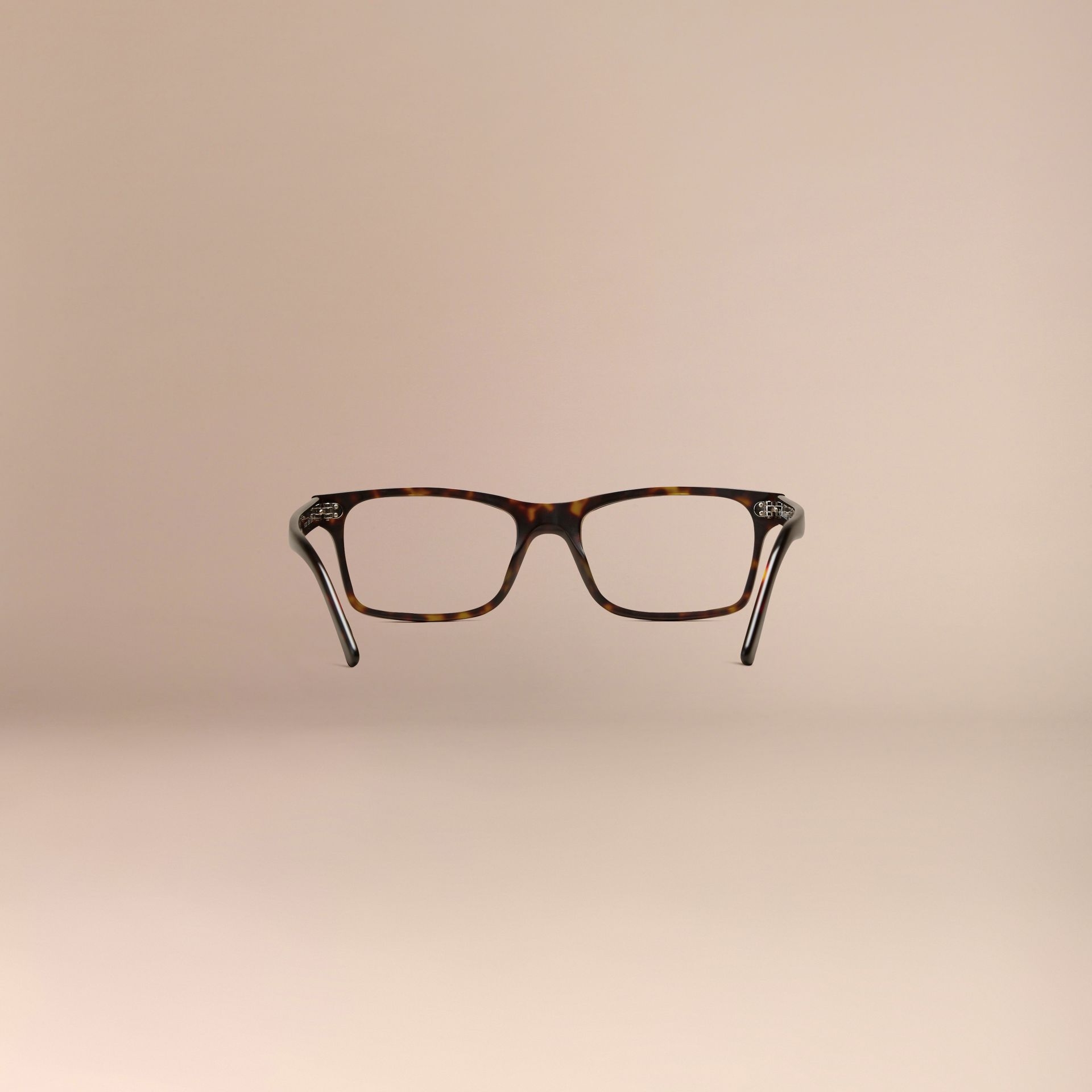Rectangular Optical Frames Brown - gallery image 4