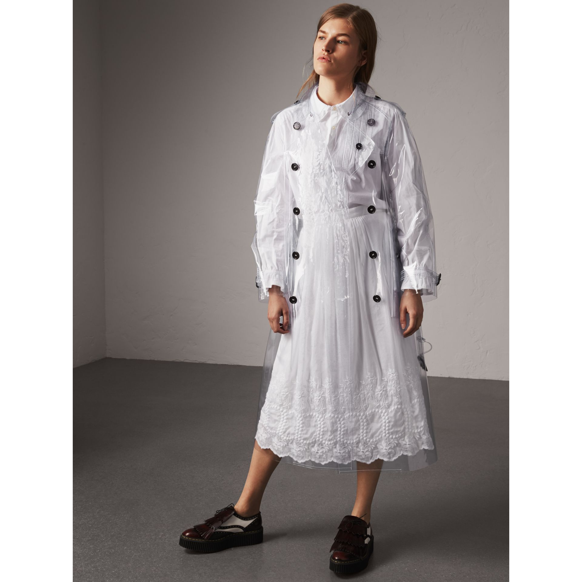 Clear Trench Coat - Women | Burberry - gallery image 6