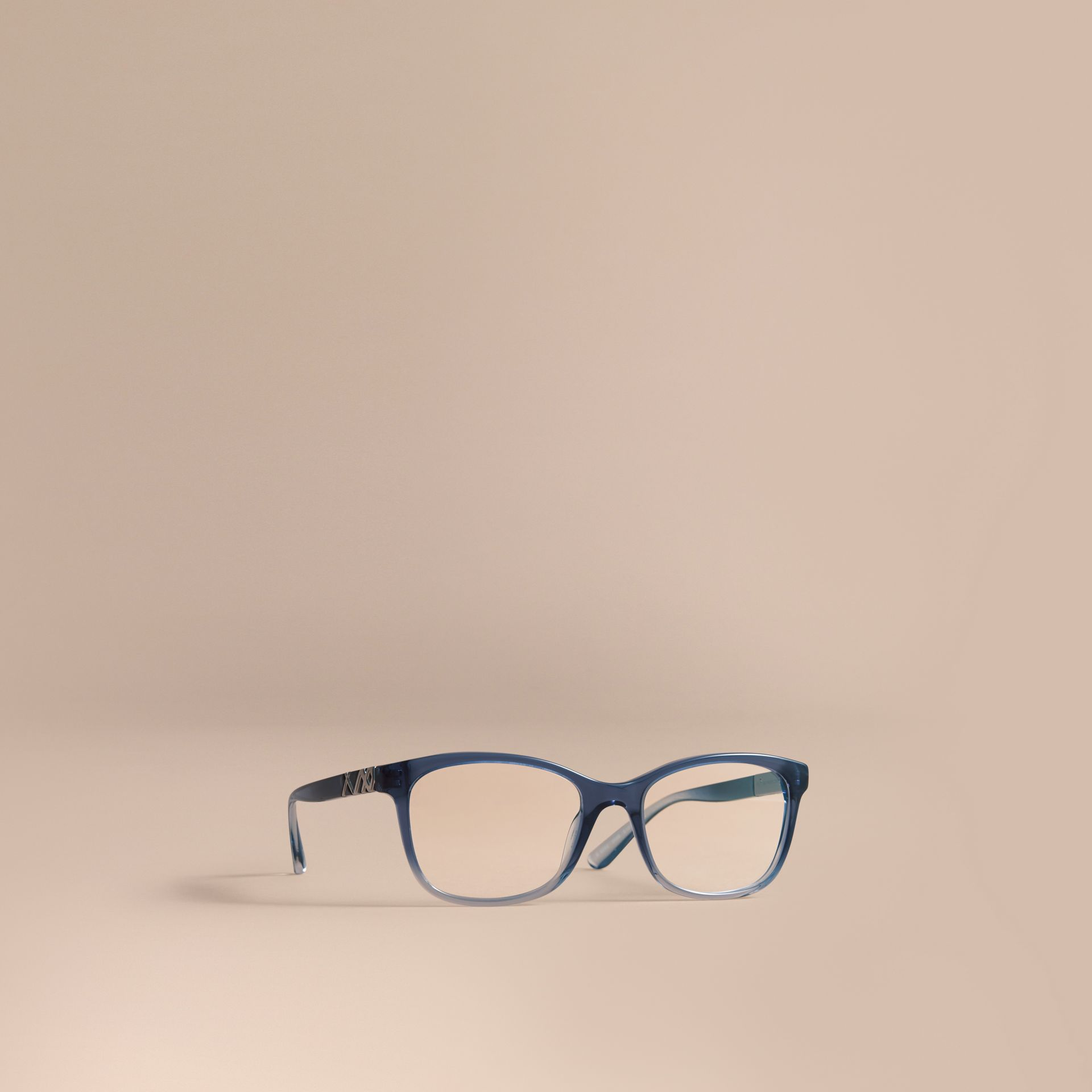 Check Detail Square Optical Frames - gallery image 1