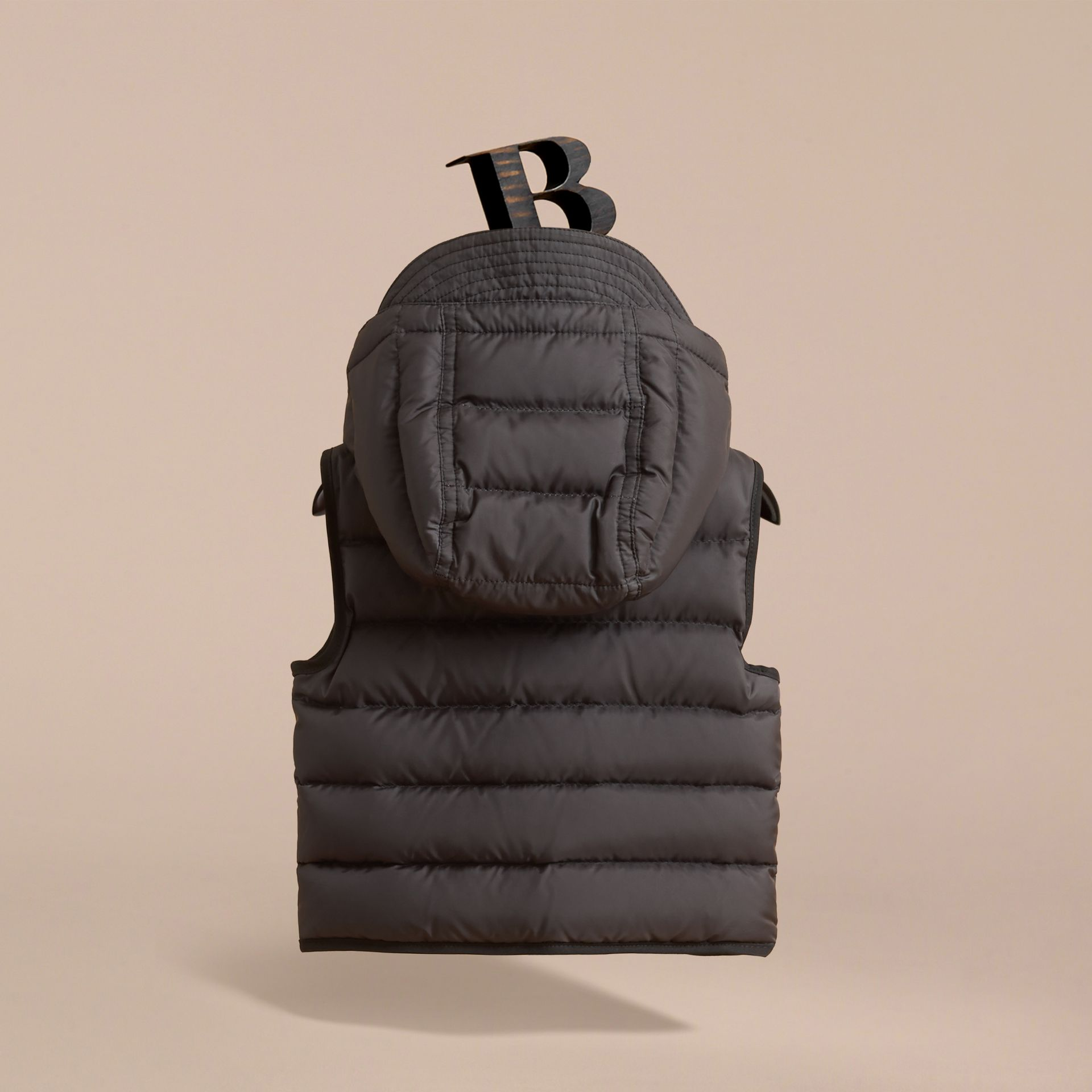 Down-filled Hooded Gilet | Burberry - gallery image 4