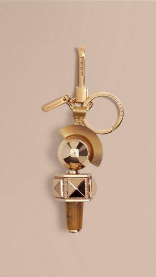 Punk Horn-look Key Charm