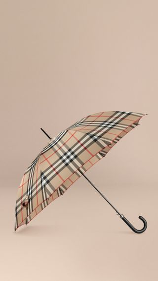 Giant Exploded Check Walking Umbrella
