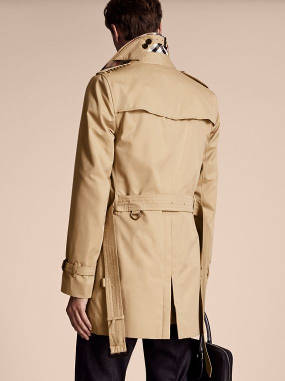 Miel Trench coat Kensington - Trench coat Heritage de longitud media Miel - cell image 2