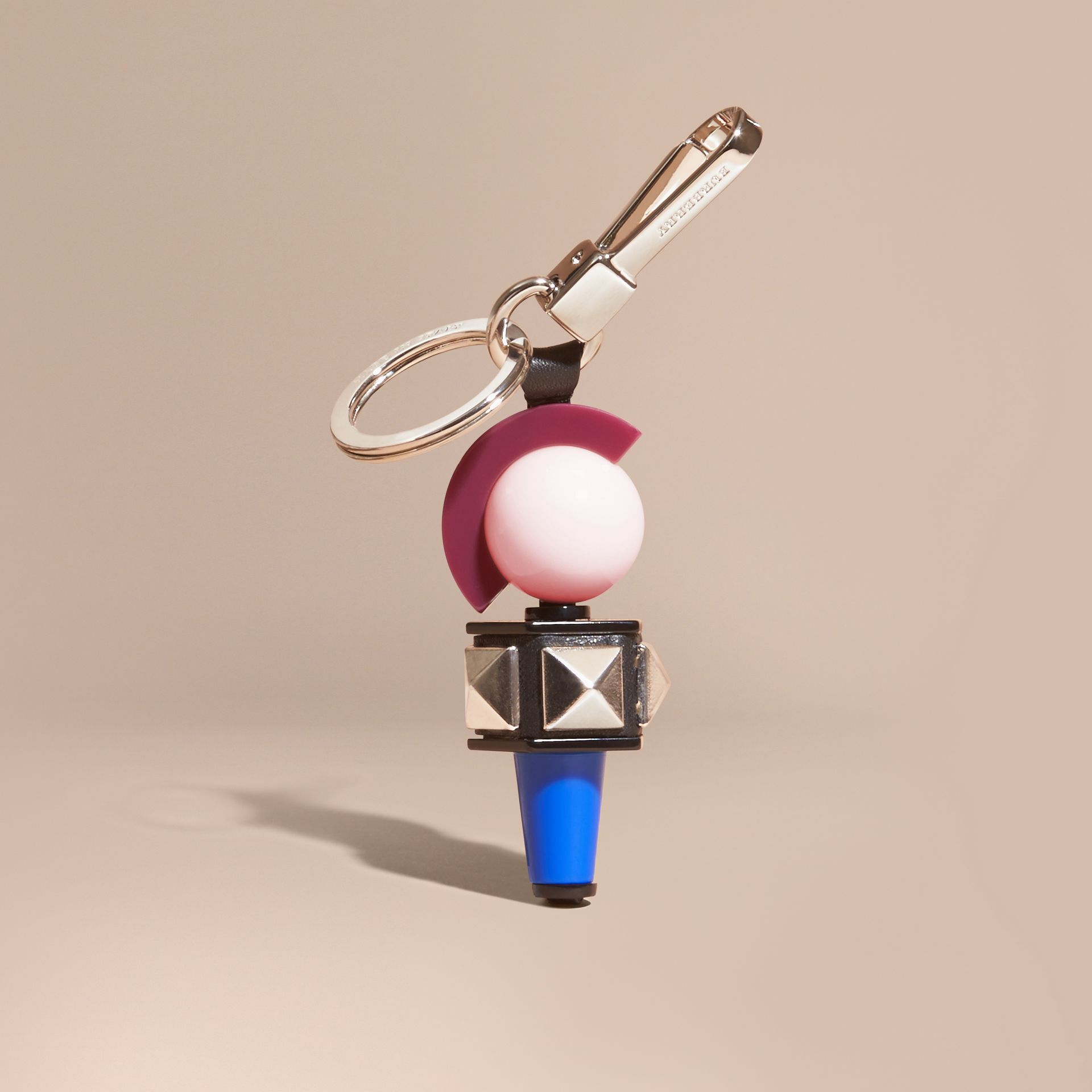 Black The Punk Key Charm - gallery image 1