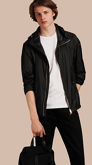 Ultra-lightweight Blouson with Hood