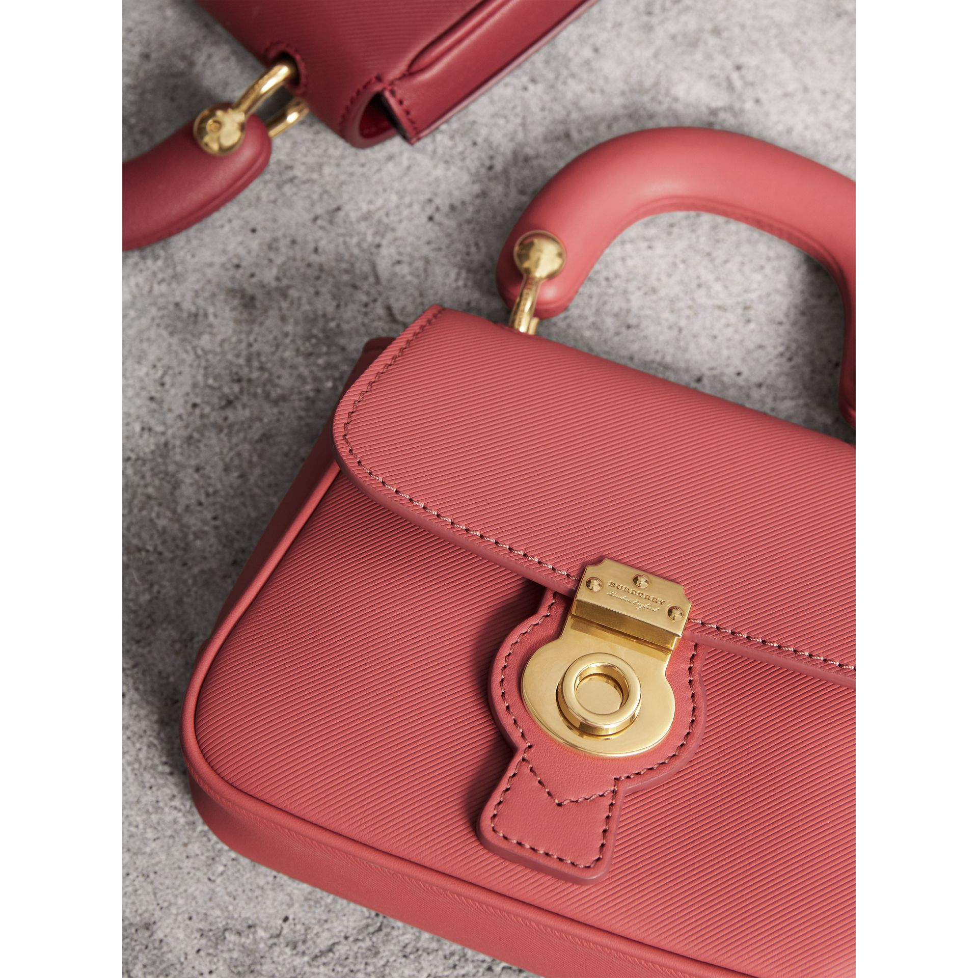The Mini DK88 Top Handle Bag in Blossom Pink - Women | Burberry - gallery image 6