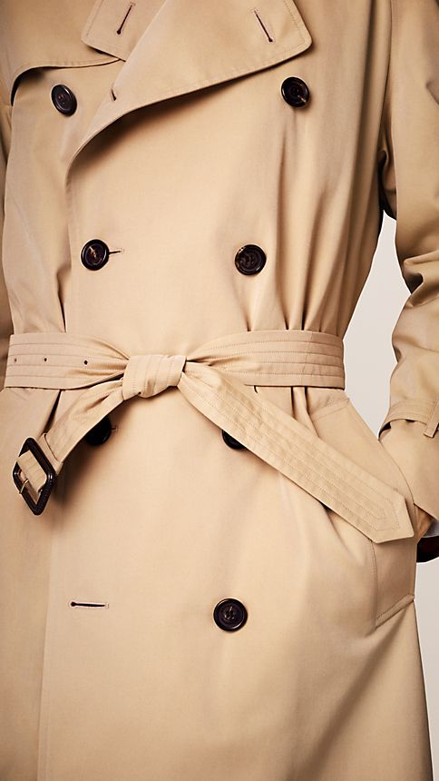 Honey The Westminster - Long Heritage Trench Coat - Image 4