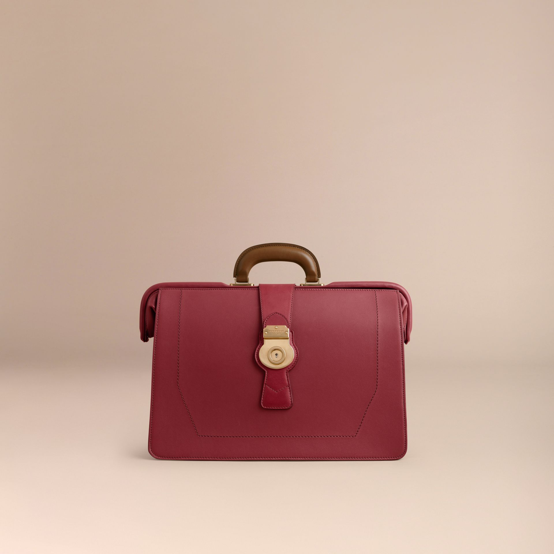 Sac docteur DK88 (Rouge Antique) - Homme | Burberry - photo de la galerie 7