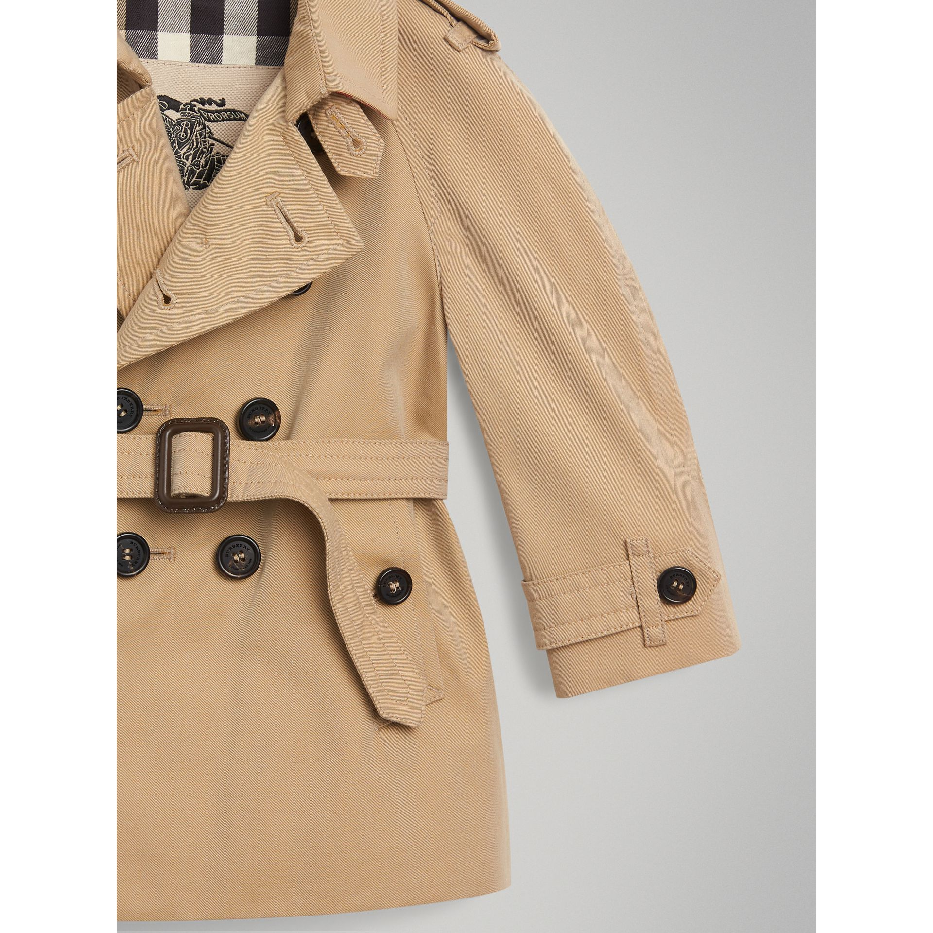The Wiltshire Trench Coat in Honey - Children | Burberry - gallery image 1