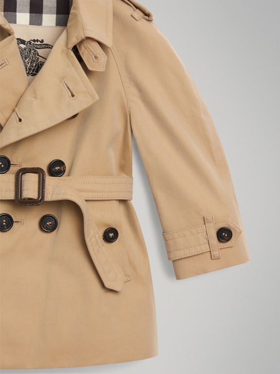 The Wiltshire Trench Coat in Honey - Children | Burberry - cell image 1