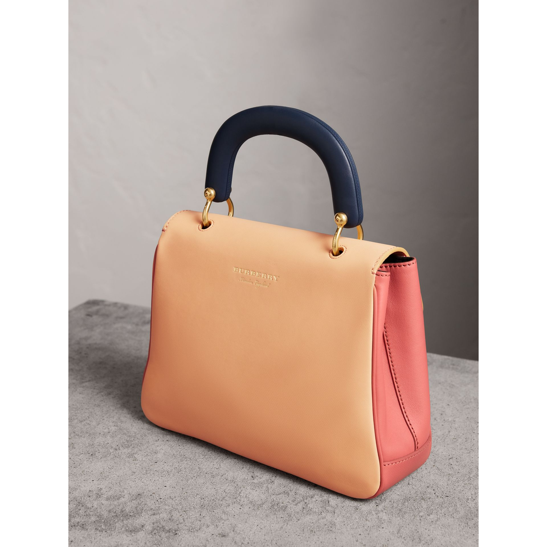 The Medium DK88 Top Handle Bag in Blossom Pink/pale Clementine - Women | Burberry Singapore - gallery image 3