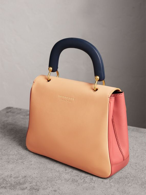 The Medium DK88 Top Handle Bag in Blossom Pink/pale Clementine - Women | Burberry United States - cell image 3