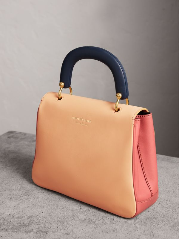 The Medium DK88 Top Handle Bag in Blossom Pink/pale Clementine - Women | Burberry - cell image 3