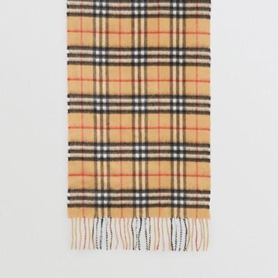 Burberry - Écharpe classique en cachemire à motif Vintage check - 5