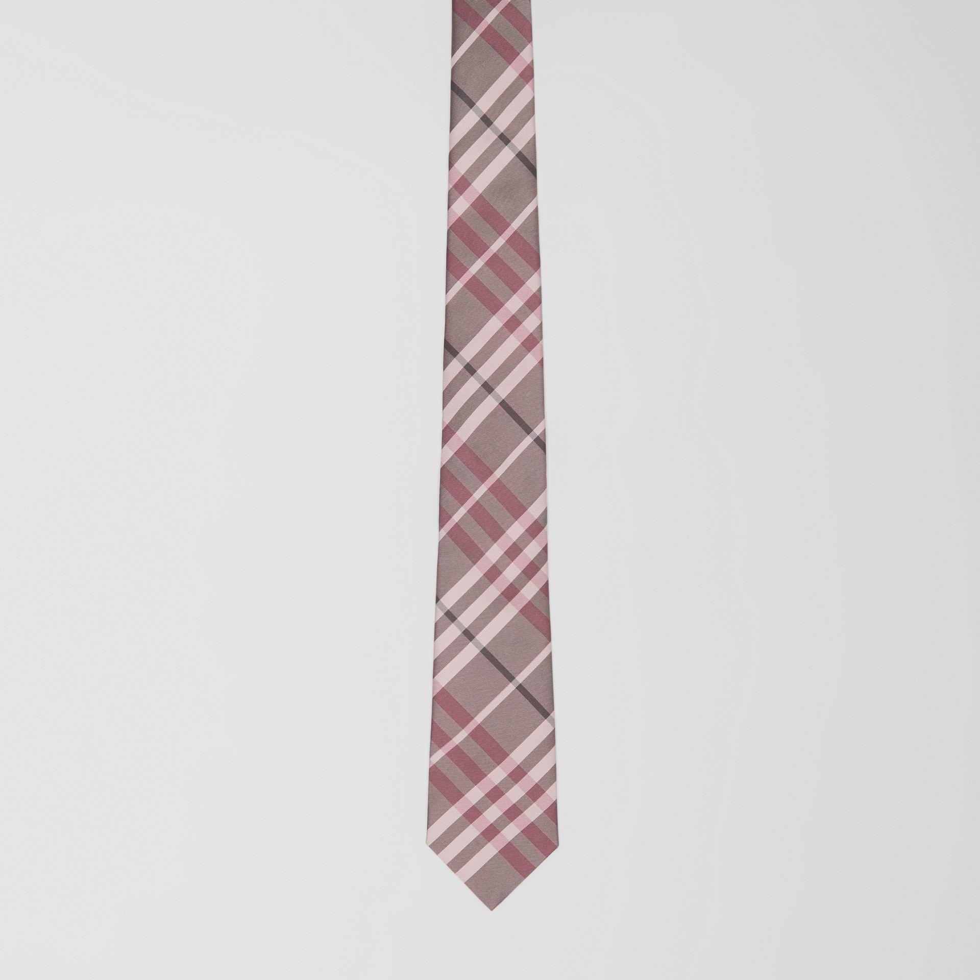 Классический галстук в клетку Vintage Check (Розовый Мел) - Для мужчин | Burberry - изображение 3
