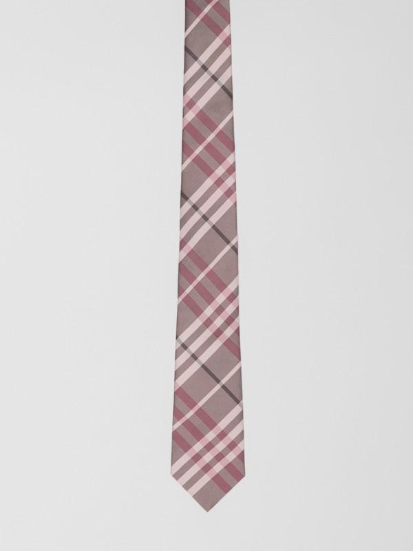 Классический галстук в клетку Vintage Check (Розовый Мел) - Для мужчин | Burberry - cell image 3
