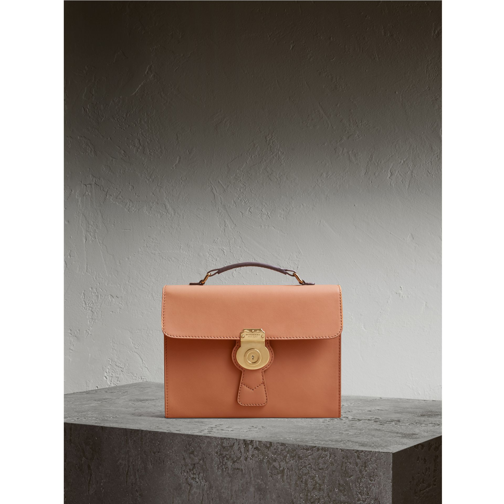 The DK88 Portfolio Case in Pale Clementine - Men | Burberry - gallery image 1