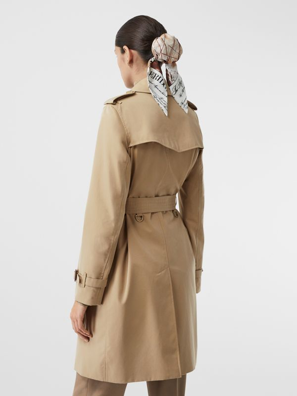 The Kensington Heritage Trench Coat in Honey - Women | Burberry Hong Kong S.A.R - cell image 2