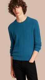 Aran Knit Cashmere Sweater