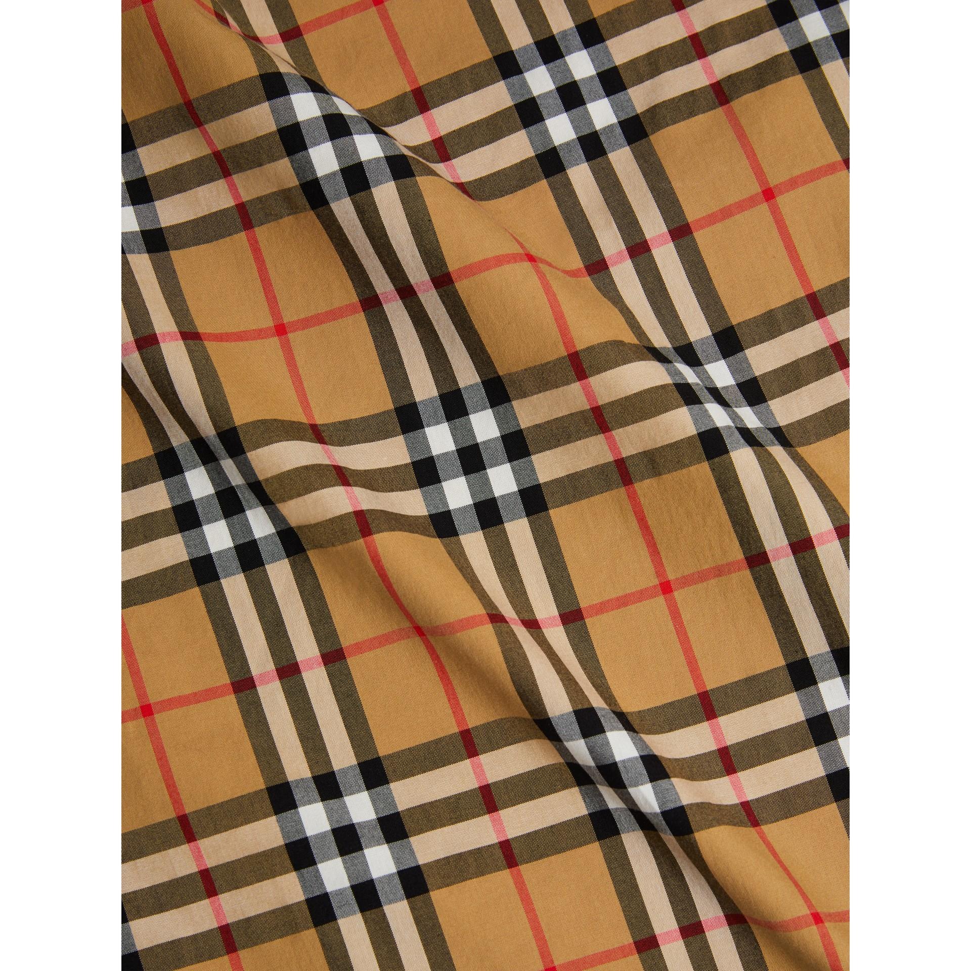 The Kensington Heritage Trench Coat in Honey - Men   Burberry - gallery image 9