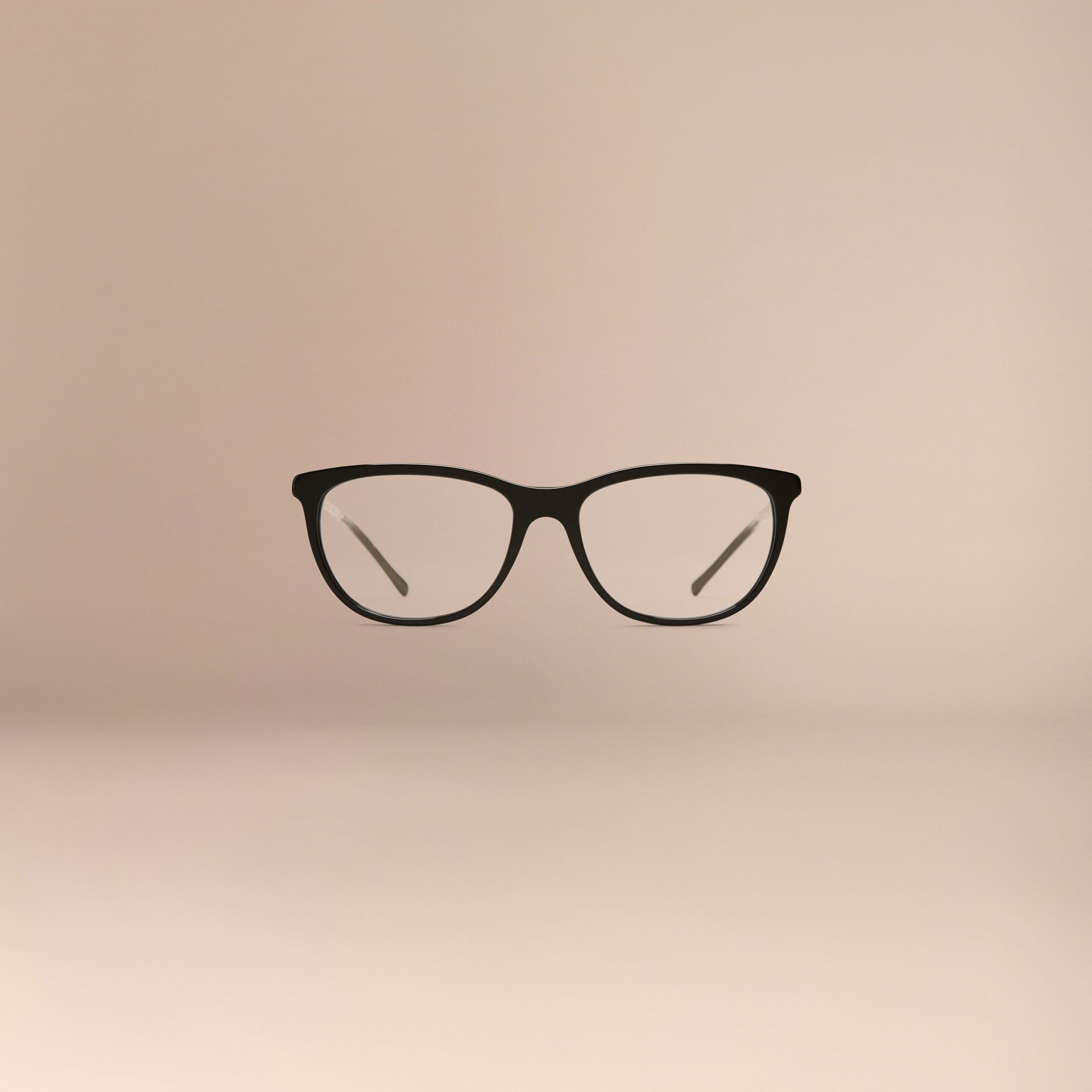Gabardine Collection Cat-Eye Optical Frames Black - gallery image 3