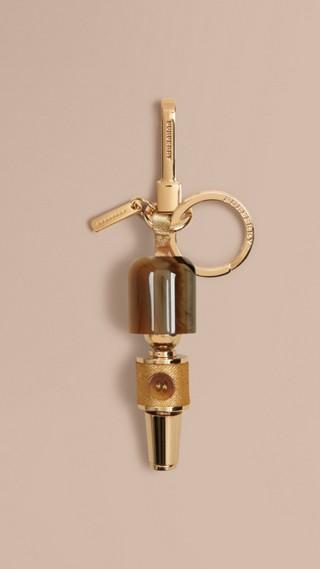 Guardsman Horn-look Key Charm