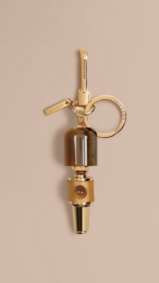Guardsman Horn-look Key Charm